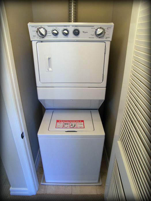 stackable washer dryer gas used pan features corners child safety stacking kit home depot maytag